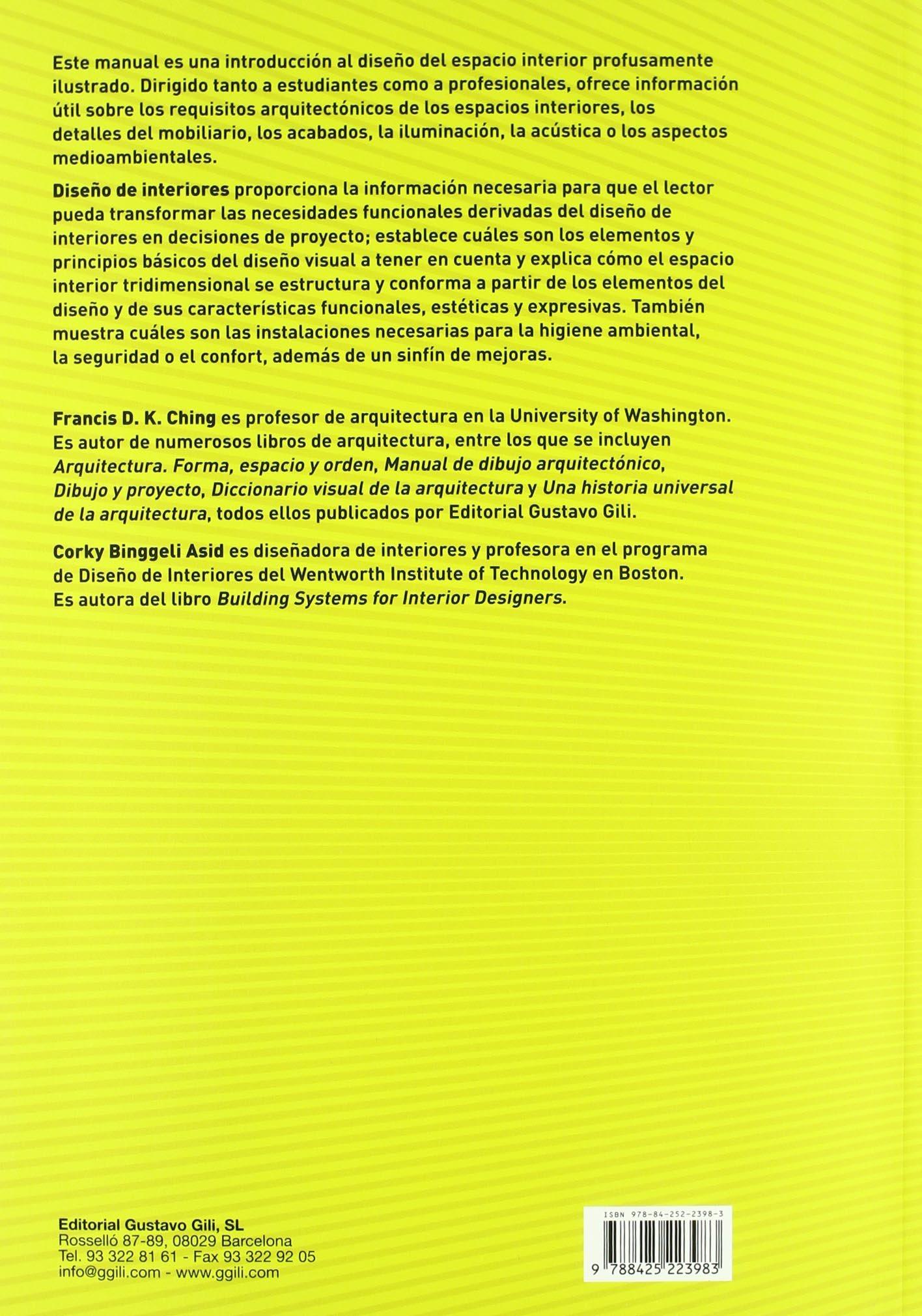 Libros diseo interiores excellent la biblia del diseo for Diseno de interiores un manual pdf