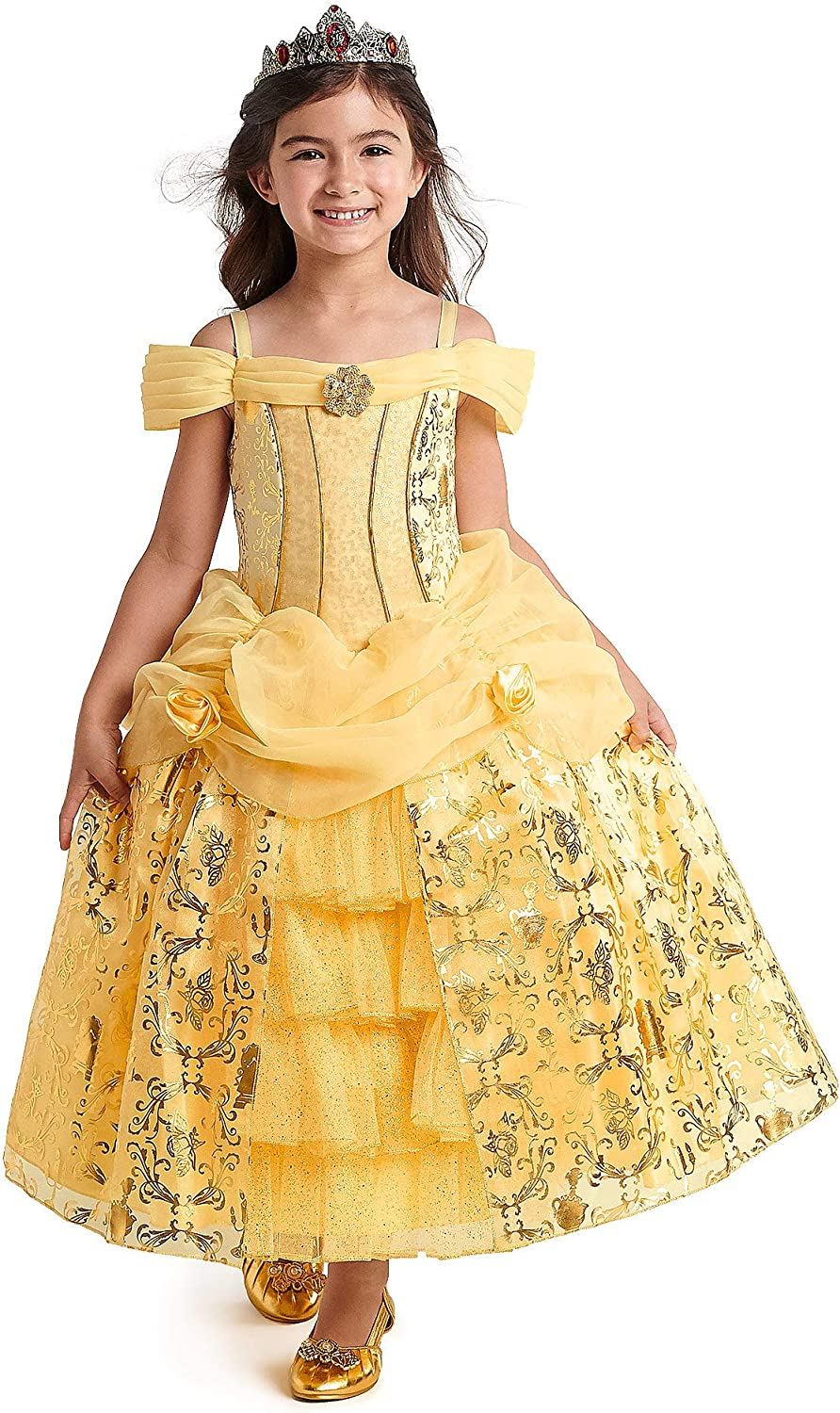 Beauty and The Beast Child Deluxe Live Action Belle Girls Costume
