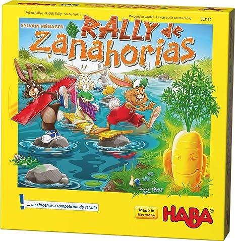 HABA- Rally de Zanahorias (303124): Amazon.es: Juguetes y juegos