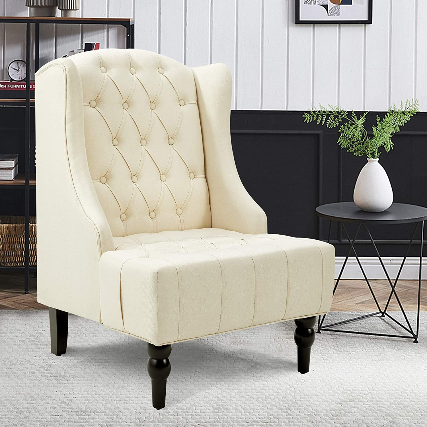 Esright High Back Accent Chair