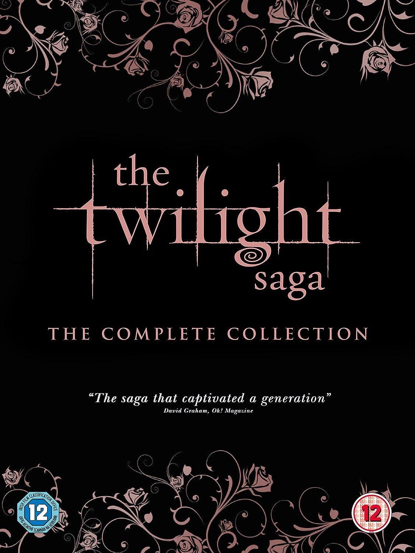 The Twilight Saga: The Complete Collection inc. Breaking Dawn - Part 1: Extended Edition Blu-ray Reino Unido: Amazon.es: Kristen Stewart, Robert Pattinson, Taylor Lautner, Peter Facinelli, Elizabeth Reaser, Ashley Greene, Nikki Reed,