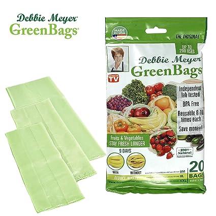 amazon com debbie meyer greenbags reusable bpa free food saver