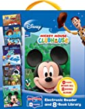Disney Electronic Reader and 8 Book Library