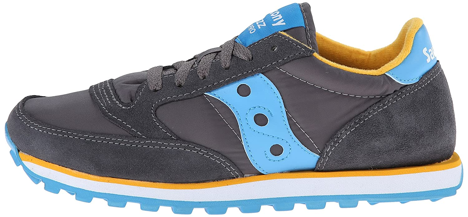 Saucony Originals Women's Jazz Low Pro Sneaker B00H7ZLAEG 9 B(M) US|Charcoal/Blue