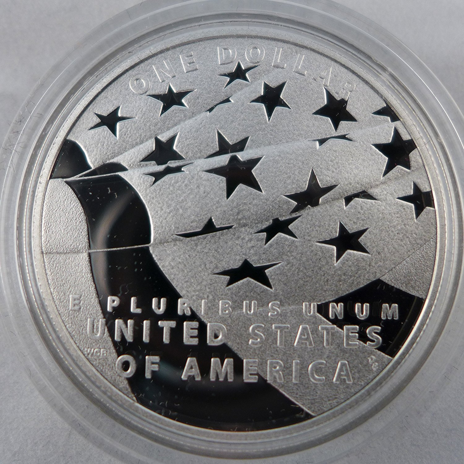 2012 P Commemorative Star-Spangled Banner Silver Dollar Proof US Mint