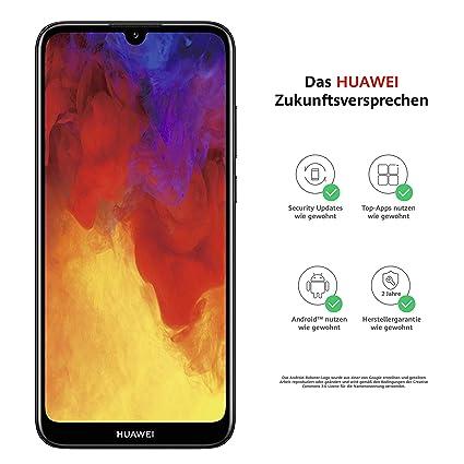 Huawei P Smart 2019 Sim Karte Einlegen.Huawei Y6 2019 Dual Sim Smartphone 15 46 Cm 6 09 Zoll 3020mah Akku 32 Gb Interner Speicher 2gb Ram Android 9 0 Midnight Black