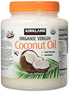 100% Organic Extra Virgin,Coconut Oil,84 Fl .oz,beauty aid and cooking oil