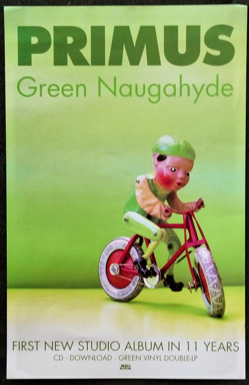 Amazon.com: Primus – Verde Naugahyde – Rare la publicidad ...