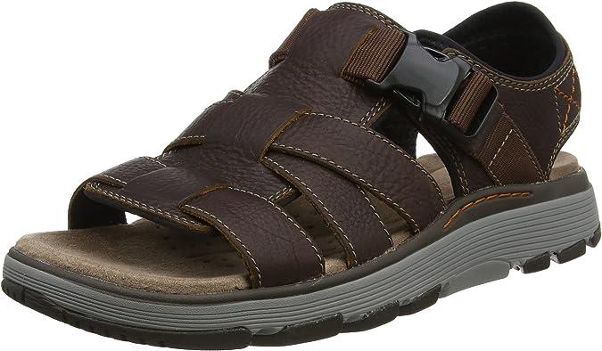 clarks trek cove sandales bride arrière homme