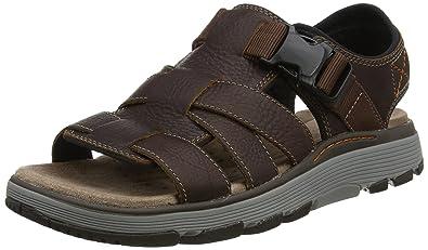 a4ae5a6248f Clarks Men s Un Trek Cove Sling Back Sandals  Amazon.co.uk  Shoes   Bags