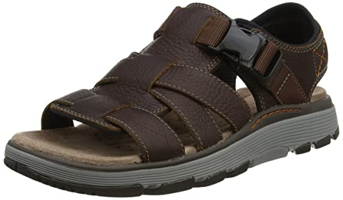 849f01308608 Clarks Men s Un Trek Cove Sling Back Sandals  Amazon.co.uk  Shoes   Bags