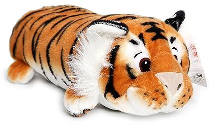 Amazon.com: TERRENCE el Sleepy Tiger | 16 inch grande felpa ...