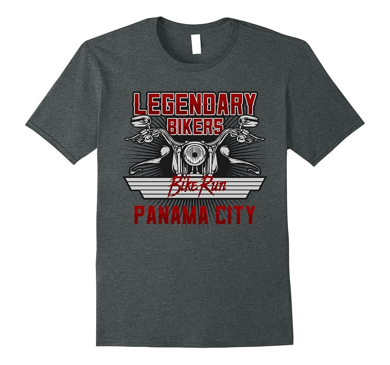 Legendary Bikers Bike Run Panama City T-Shirt-CD