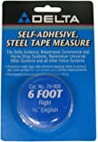 Biesemeyer 79-068 6-Foot Right 3/4-Inch Wide English Adhesive-Backed Measuring Tape