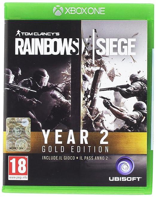 3 opinioni per Rainbow Six Year 2- Gold- Xbox One