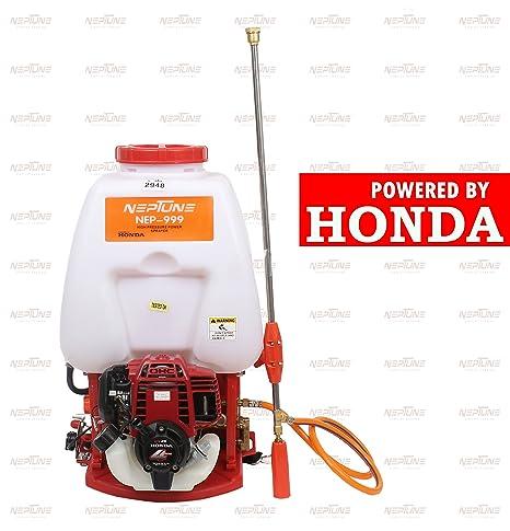 Neptune� Knapsack Power Sprayer NF-999 (Capacity: 20 LTR) with 4 Stroke Original Honda Engine