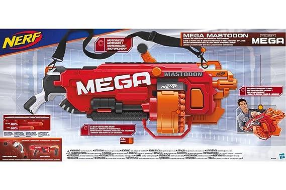 1 of 7FREE Shipping Nerf N-Strike Elite Mega Mastodon Dart Blaster Gun  Tested FREE SHIP