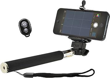 4-OK MonoPod - Soporte selfie extensible + adaptador para trípode ...