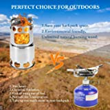 Qunlei 304 Stainless Steel Camping Cookware Set