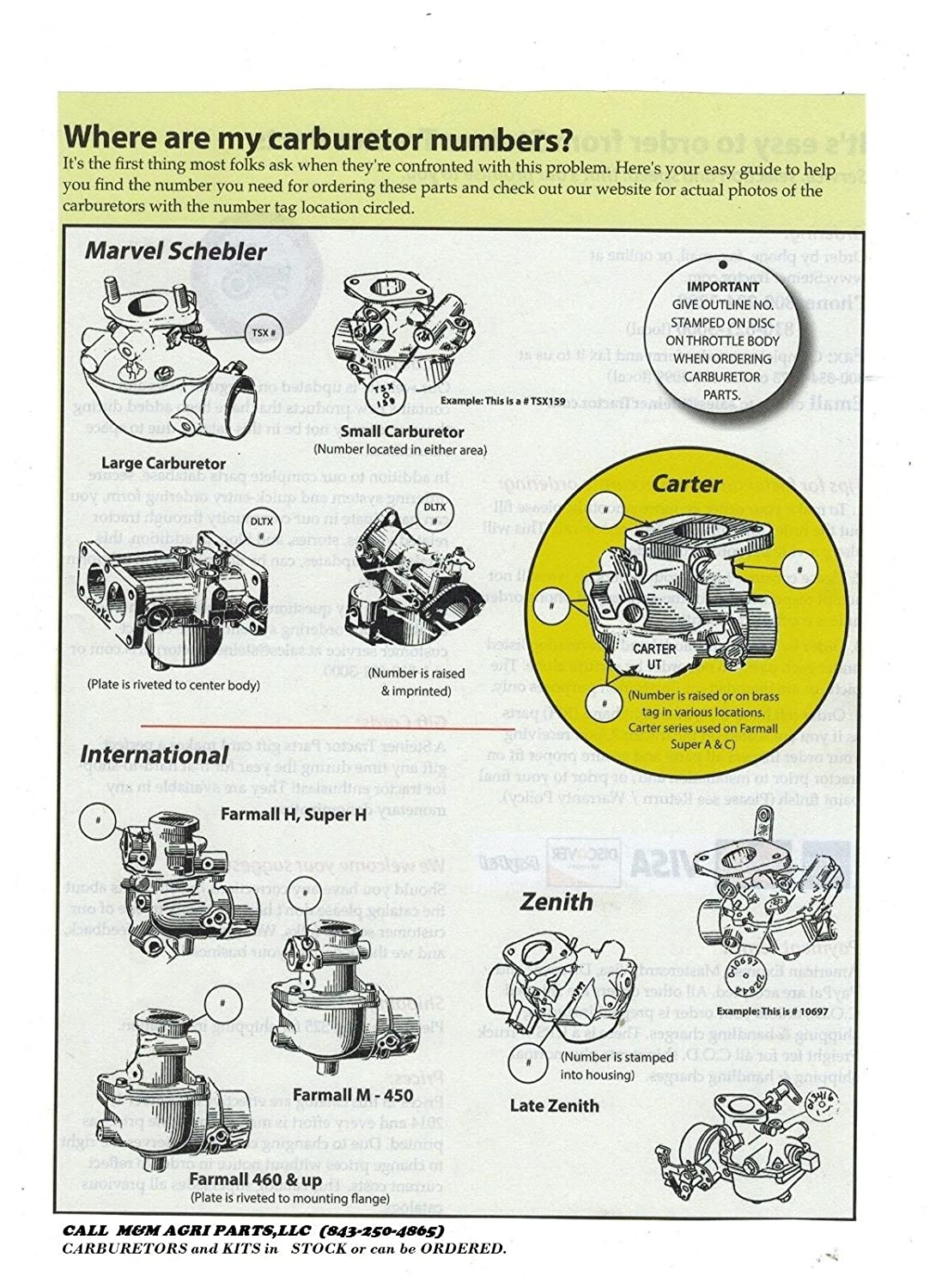 Complete Carburetor Kit Ih Farmall 656 706 756 766 Tractor Wiring Diagram Free Picture Carb 388424r96 Kitchen Dining