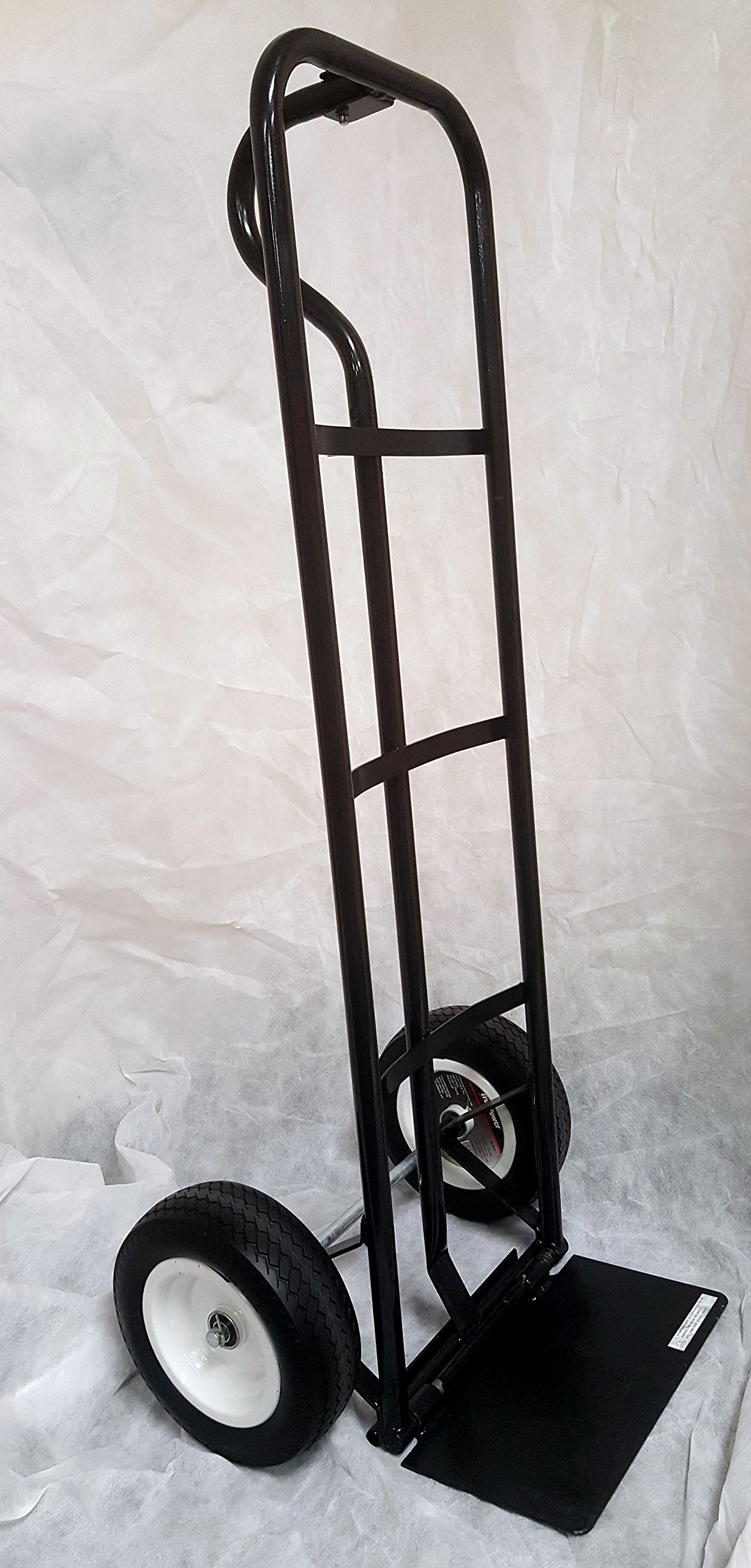 600 Pound Hand Truck with Flat-Free Tires (40-4055)