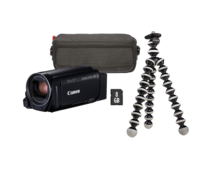 Canon LEGRIA HF R86 3,28 MP CMOS - Videocámara (3,28 MP, CMOS, 25,4/4,85 mm (1/4.85
