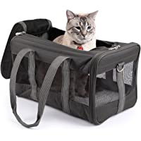 Sherpa Travel Original Deluxe Airline Approved Pet Carrier, Large, Charcoal
