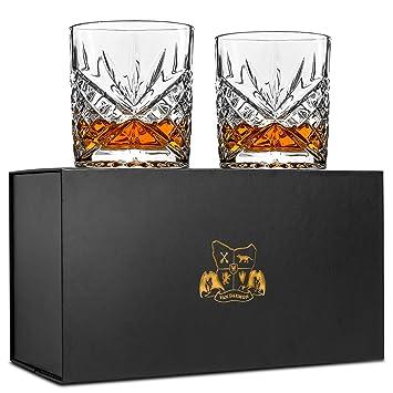 "Van Daemon - Vasos de whisky""Star of Salamanca"" - cristal sin plomo."