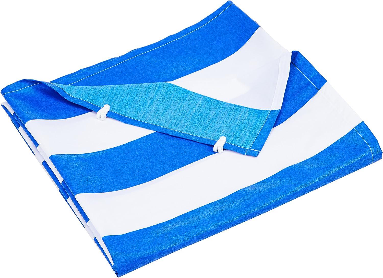 Flora Cord Vertical de toldo Completo con la tecnología tensionadora de Universal, Azul de Color Blanco, 230 x 140 cm: Amazon.es: Jardín
