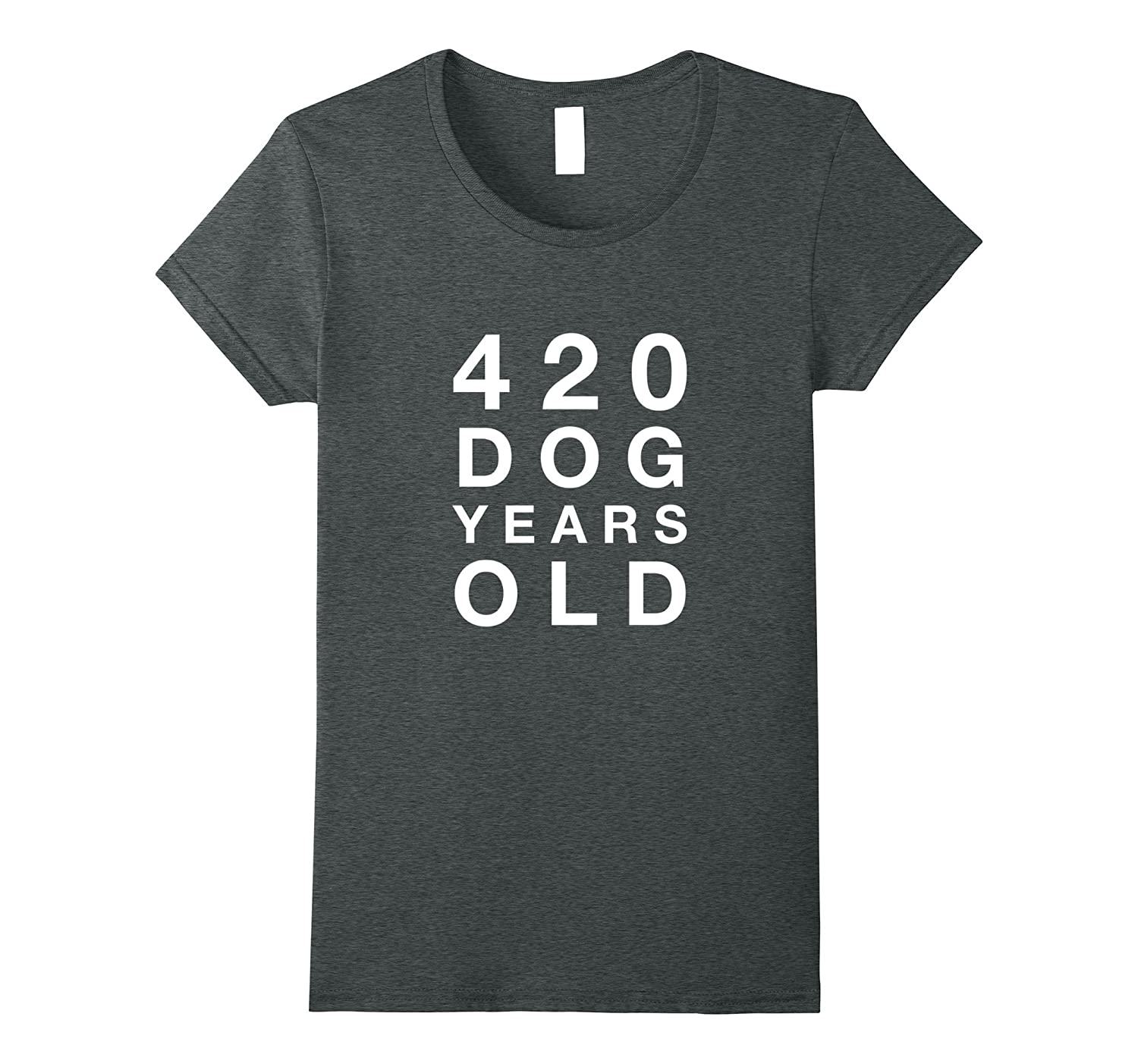 Funny 420 Dog Years Old 60th Birthday Gift T Shirt