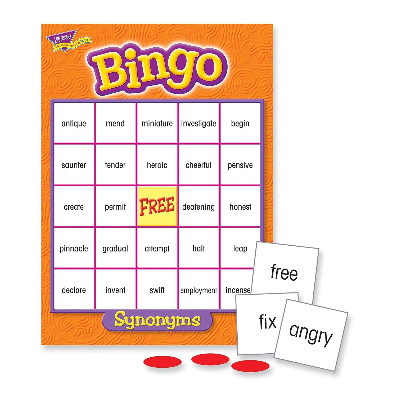 Amazon.com: Synonyms Bingo Game: Toys & Games
