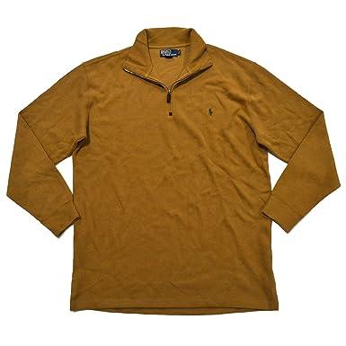 Polo Ralph Lauren Mens Big \u0026 Tall 1/4 Zip Sweater (LT, ...