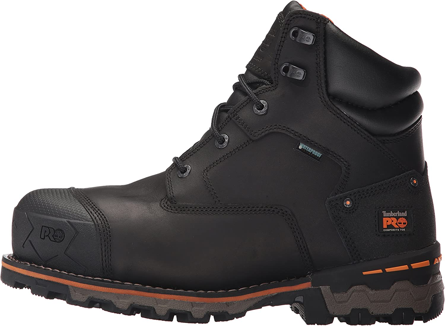 Timberland PRO Chaussure 6 in Boondock CT WP pour Homme, 43.5 2E EU, Black