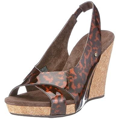 d87c65133e7 UGG Australia Women s Hazel Leopard Wedges Heel 1926Leopard5 3 UK   Amazon.co.uk  Shoes   Bags