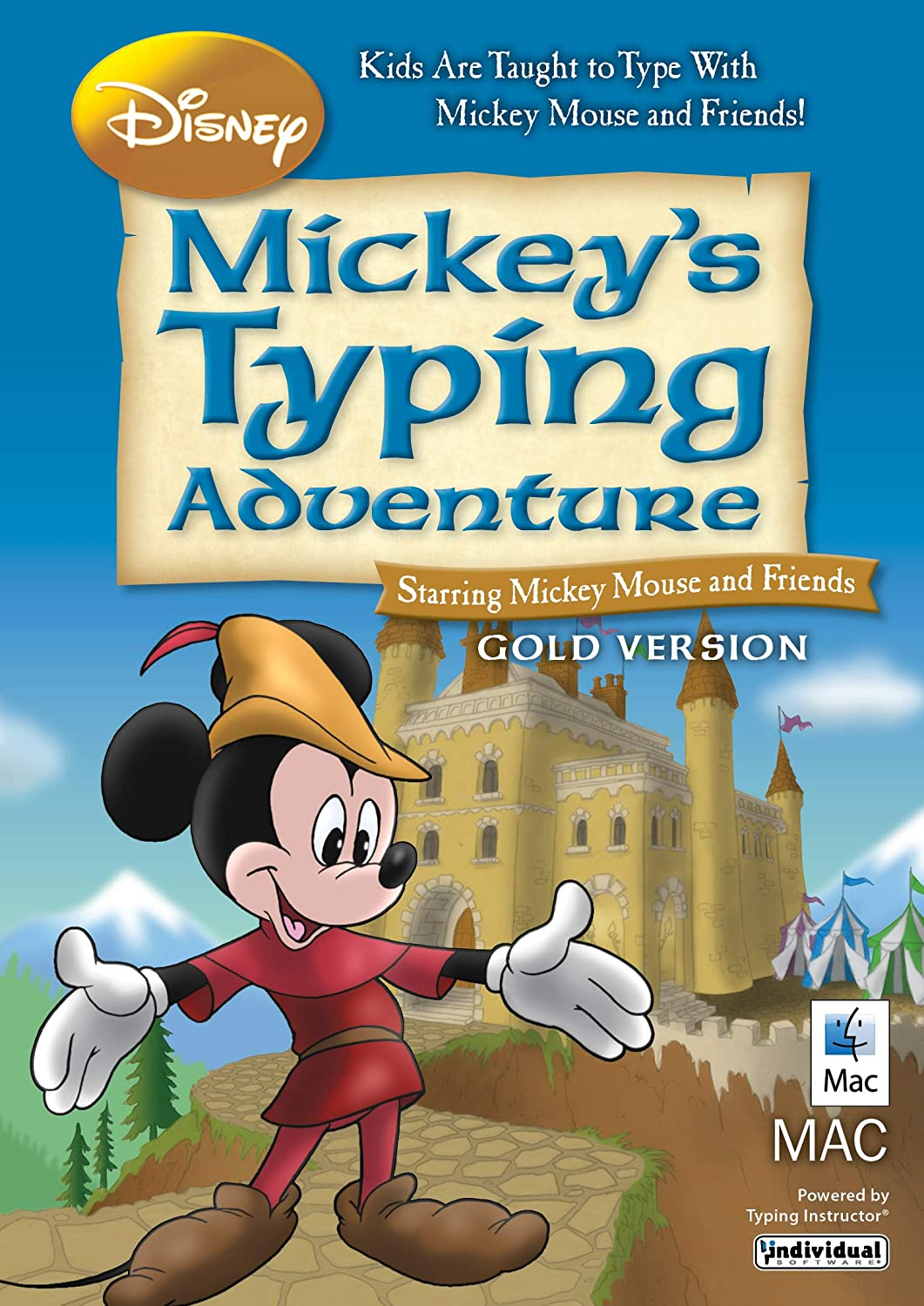 Disney Mickey's Typing Adventure Gold [Mac Download]