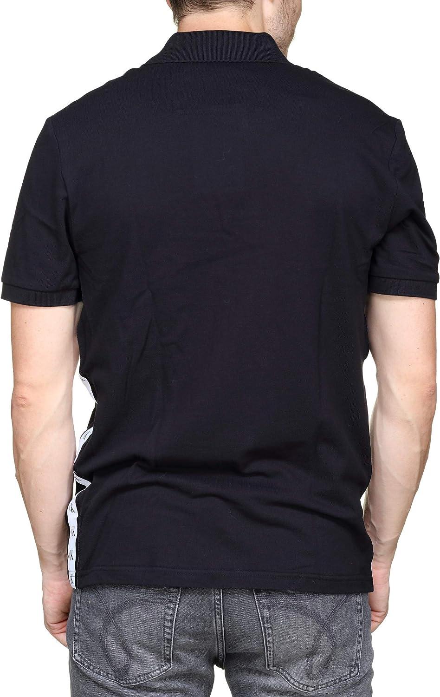 Calvin Klein - Polo Monogram Tape - J30J313179 099 - Negro, S ...