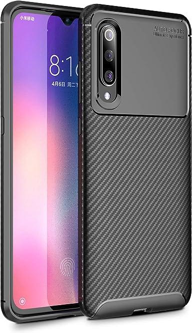 Funda Xiaomi Mi 9 Teléfono Móvil Silicona Bumper Case y Flexible ...