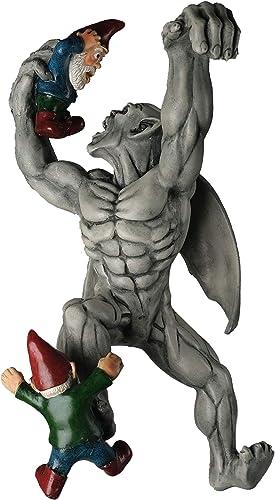 BELLA HAUS DESIGN Great Gargoyle Gnome Massacre Fence Hanger