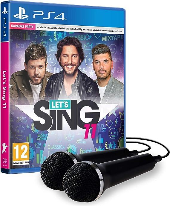LetS Sing 11 - Edición Estándar Con 2 Micrófonos: Amazon.es ...