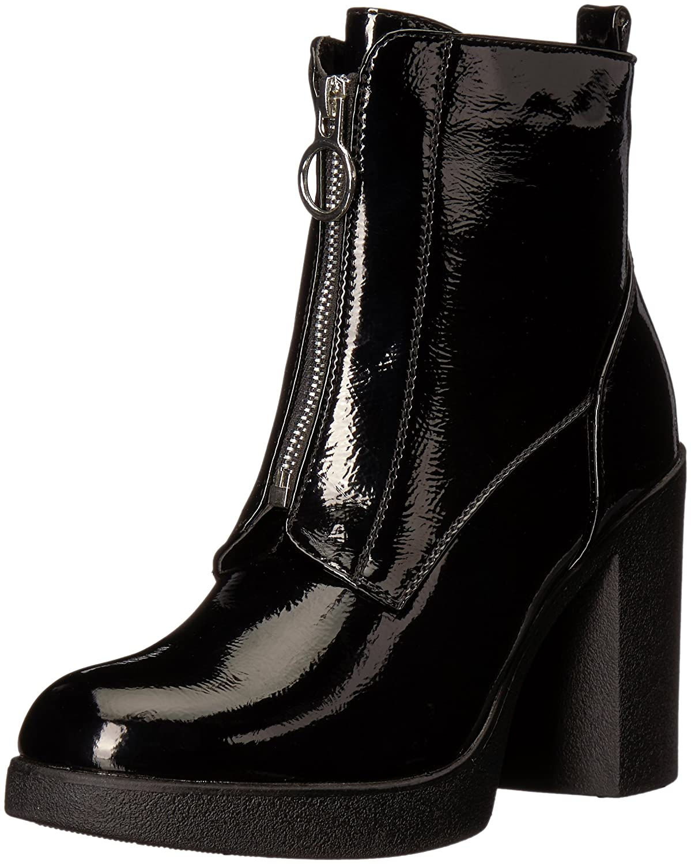 ALDO Women's Cerasien Ankle Boot B0743SRYQB 9 B(M) US|Black Patent