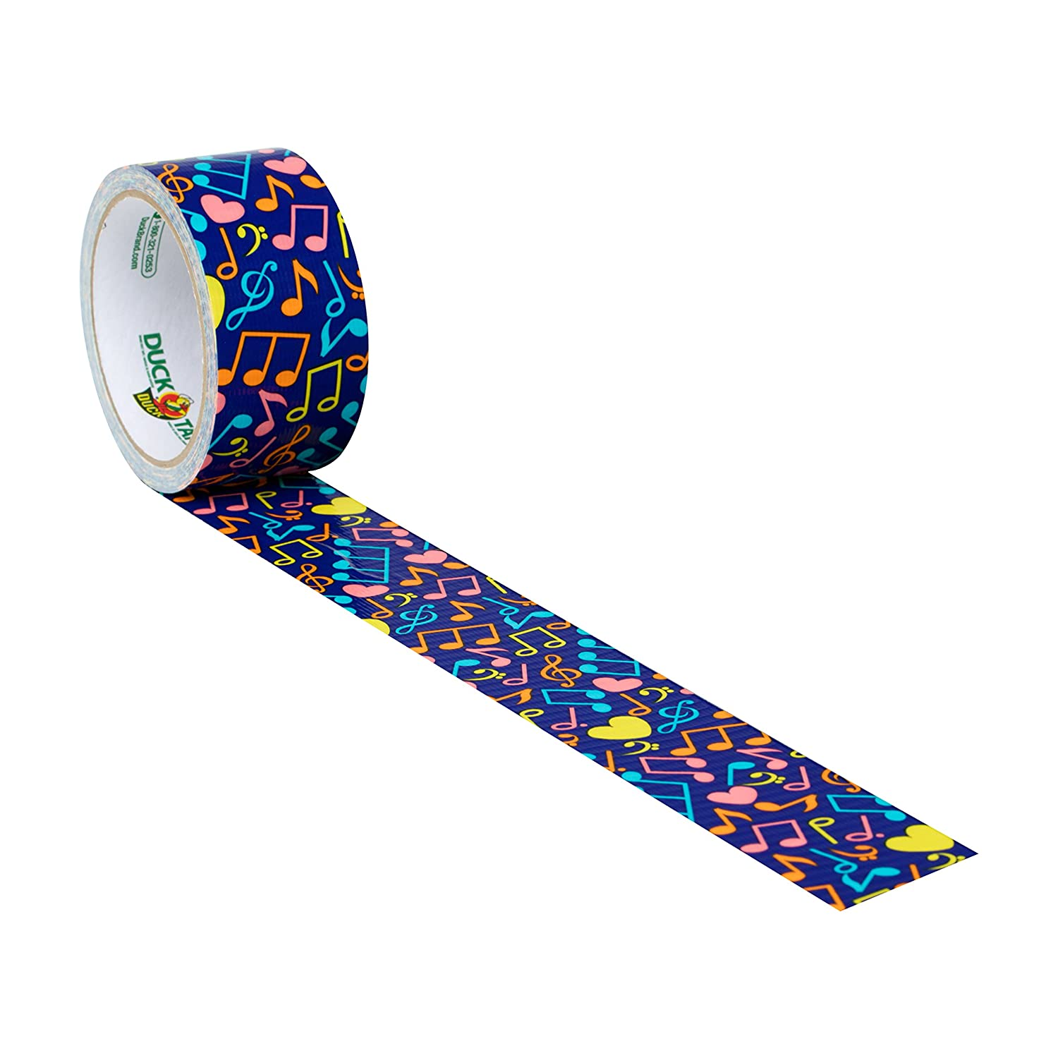 Amazoncom Duck Brand 284178 Printed Duct Tape, Musical Notes, 188