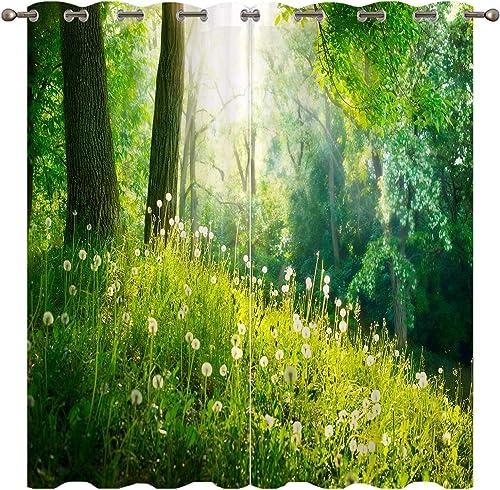 Nature Blackout Curtains
