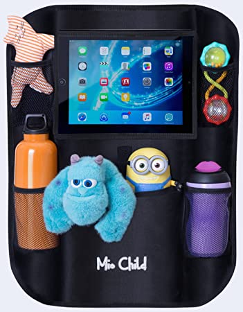 Amazon.com: Car Seat Organizer With Tablet Holder - Fun Rides for ...