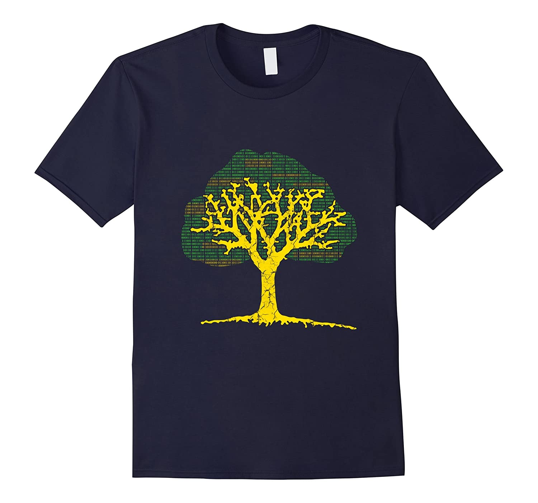 Binary Tree Computer Sciences Software Developer TShirt-TH