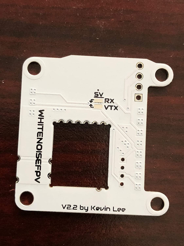 WhiteNoise FPV TBS Unify Pro Mounting Board White V2.2 Version