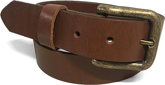 """Zelikovitz Mens Bridle Leather Belt 1 1//4 /"""""""