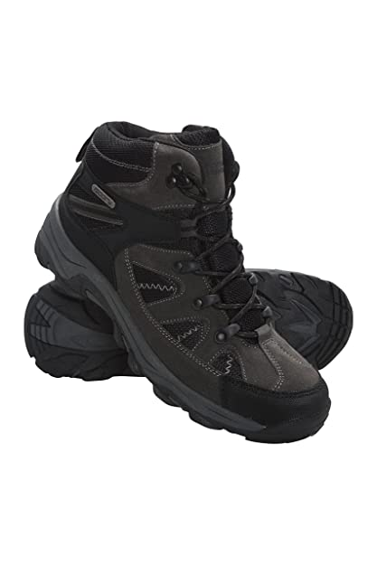 ab9bcc5a2cb Mountain Warehouse Rapid Womens Waterproof Boots -Suede & Mesh Upper ...