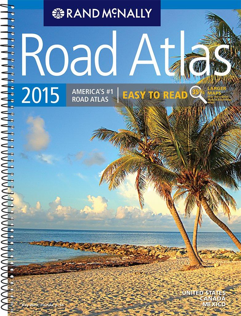 Rand McNally Easy to Read Midsize Road Atlas (Rand Mcnally Road Atlas Midsize Easy to Read) pdf epub