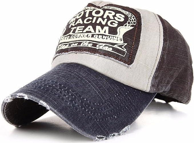 Herren Damen Freizeit Motor Recing Team Baseballmütze Cap Snapback
