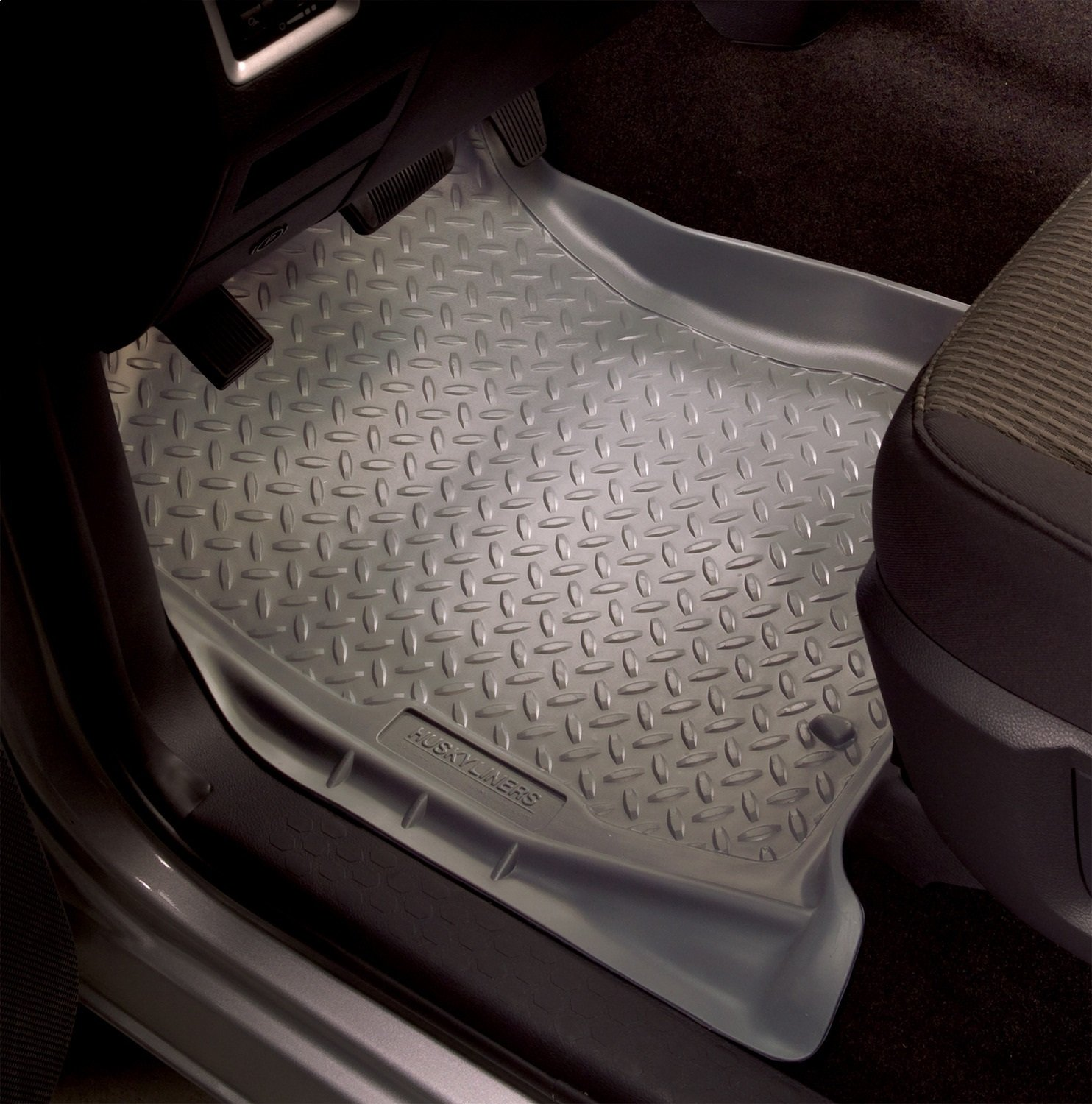 80-97 F250//F350 Husky Liners 33002 Front Floor Liners Fits 80-96 Bronco//F150 Grey Winfield Consumer Products